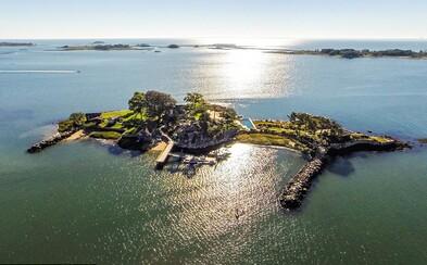 Sídlo na soukromém ostrově, kde dováděla Marilyn Monroe, je na prodej za 10 milionů eur