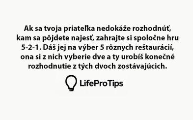 Šikovné tipy a triky, ktoré spravia tvoj život lepším, krajším a efektívnejším. Možno si ich doteraz prehliadal, ale nastal čas využiť ich