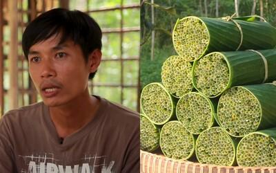 Šikovný Vietnamec vyrábí slámky z trávy. Jednorázové plasty odmítá, jeho výrobky neobsahují ani chemikálie