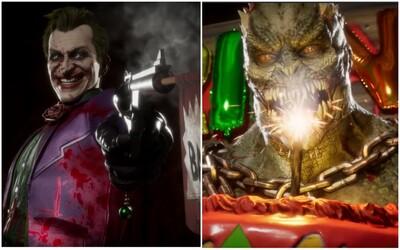 Šílený Joker vraždí bojovníky v traileru pro Mortal Kombat 11. Hrát za něj budeš moct již brzy