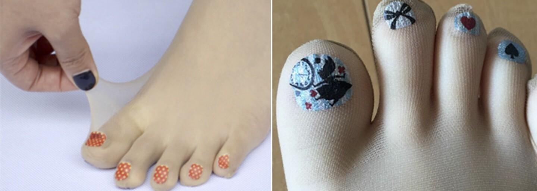 Silonky s namalovanými nehty jsou nejnovější bizarností z Japonska. Touží po nich každá žena?
