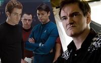 Simon Pegg vážne pochybuje, že sa Quentin Tarantino naozaj chopí réžie Star Treku