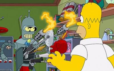 Simpsonovci sa spoja s Futuramou! Zabije Bender Barta?