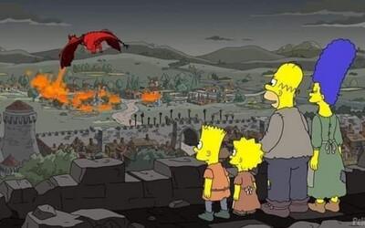 Simpsonovi předpověděli děj nejnovějšího dílu Game of Thrones už před dvěma lety