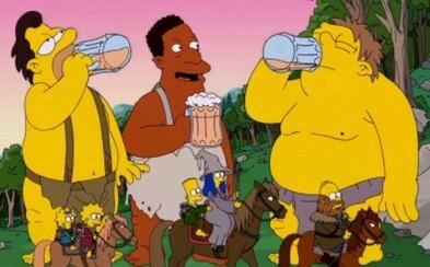 Simpsonovský Couch Gag inšpirovaný Hobbitom