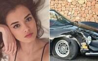 Sjela se kokainem, nabourala přítelovo Ferrari za 12 milionů a téměř utekla v jeho soukromém letadle. Pobyt na Ibize nedopadl nejlépe