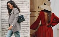 Skandinávská estetika, asymetrické střihy i výrazné barvy. Toto je 12 nejlepších českých a slovenských outfitů za září