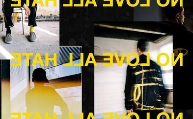 Skate značka UKNOW a umelec Martin Lukáč vymenili v kolekcii NO LOVE ALL HATE maliarske plátno za oblečenie