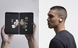Skladací mobil aj konkurent bezdrôtových slúchadiel AirPods. Microsoft ukázal nálož noviniek