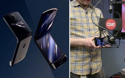 Skládací Motorola Razr má problém. V testu vydržel revoluční mechanismus pouze 27 tisíc otevření a zavření, pak selhal