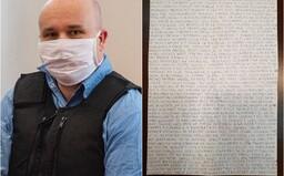 Sklamaný Andruskó píše z väzenia. Vraj sa cíti podvedený, že dostal až 15 rokov