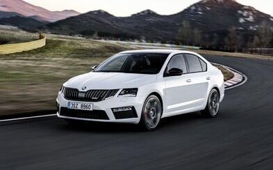 """Škoda faceliftuje už i Octavii RS. Její maska je pořád divná, skrývá přitom """"jen"""" 230 koní"""
