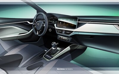 Škoda odhaľuje revolučný interiér. Už v decembri ho dostane úplne nový model