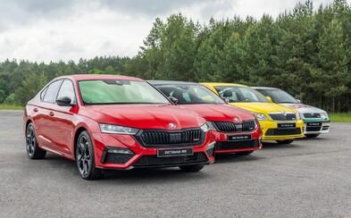 Škoda oficiálně představila Octavii RS už i s motory 2.0 TSI a 2.0 TDI