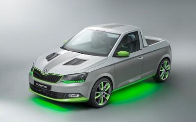 Škoda predstaví na tohtoročnom zraze pri Wörthersee štýlový pick-up Funstar!