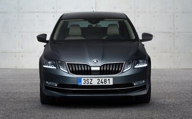 Škoda představuje faceliftovanou Octavii s radikální změnou přední části, kde dominují rozdělená světla