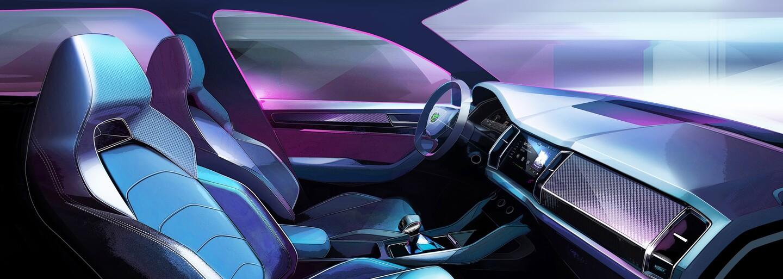 Škoda ukazuje stylový Kodiaq GT a odhaluje nové jméno nástupce modelu Rapid. Felicia to nebude