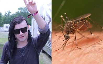 Skrillex ako repelent: Vedecká štúdia preukázala, že dubstep odradzuje komáre