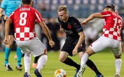 Skupiny Evropské ligy jsou tu! Slavia Izraelce tlačila, po hrubých chybách ale nakonec prohrála 1:3