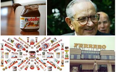 Skutečný Willy Wonka a čokoládová pomazánka Nutella, která si podmanila celý svět, to je příběh rodinné firmy Ferrero