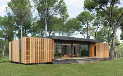 Skutočný dom, ktorý poskladáš na princípe stavebnice LEGO. Za štyri dni môže stáť len za pomoci skrutkovača a tímu ľudí