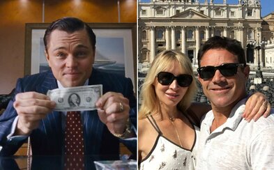 Skutočný Vlk z Wall Street si opäť užíva slobodu plnými dúškami. Dlhuje síce milióny, ale extravagantného štýlu sa vzdávať nechce