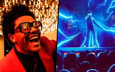 Skvělá virtuální hudební show The Weeknda na TikToku. Zpěvák vybral 350 tisíc na dobrou věc, dalších 300 tisíc věnoval Bejrútu