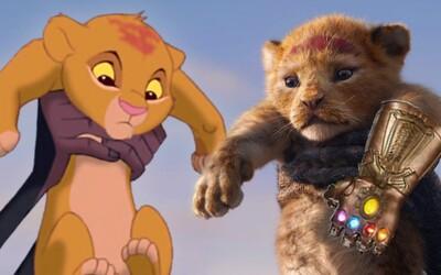 Skvelé video porovnáva pôvodného Levieho kráľa s novým trailerom. Uži si nostalgiu a vtipné obrázky Simbu ako Thanosa