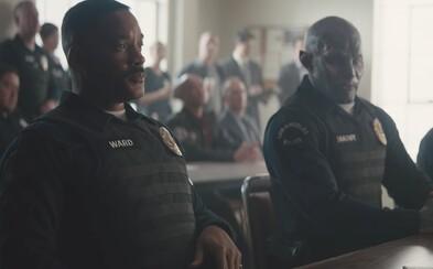Skvelo vyzerajúci akčný film o rasizme a uliciach plných zločinu v najnovšej ukážke zo zákulisia. Zoznámte sa so špinavým fantasy Bright