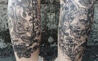 Skvostná tetování spojující detaily, biologii a přírodu. Šikovná tatérka má kalendář obsazen na týdny dopředu