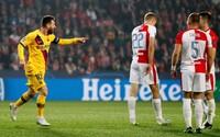 Slavia sa nezľakla, napriek tomu prehrala s Barcelonou 1:2