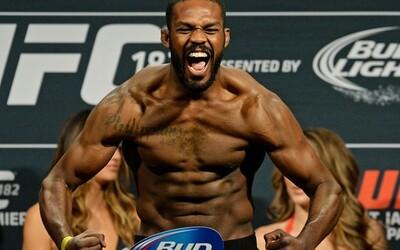 """Slavný zápasník MMA Jon """"Bones"""" Jones byl opět pozitivně testován na doping. Pro šampionovu kariéru by to mohlo znamenat konec"""