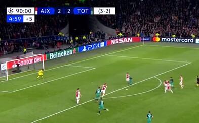 Sleduj, ako Moura gólom v neuveriteľnej 96. minúte poslal Tottenham do finále Ligy majstrov