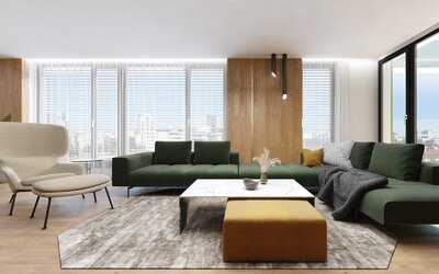 Sleduj, ako môže vyzerať rekonštrukcia bytu, v ktorom sa snúbi minimalizmus s duchom starej Bratislavy