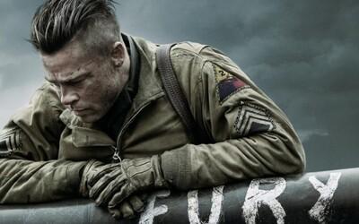 Sleduj dychberúci trailer pre Pittove Fury. Akčná vojnová dráma útočí na Oscarov!