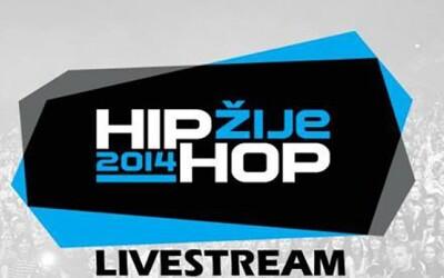 Sleduj festival Hip Hop Žije 2014 naživo!