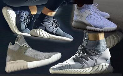 Sleduj čtveřici nových modelů adidas Originals Tubular podle vzoru Yeezy a Y-3