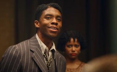 Sleduj trailer na poslední film Chadwicka Bosemana. Netflix uvede emotivní, hudební drama už v prosinci