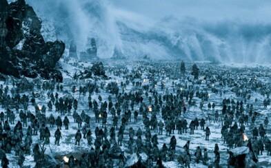 Sledujte, ako sa natáčala jedna z najepickejších scén poslednej série Game of Thrones - bitka medzi divokými a nemŕtvymi