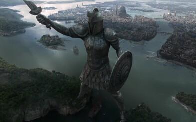 Sledujte, ako vznikali v seriáli Game of Thrones niektoré majestátne scény a obrovské mestské zábery