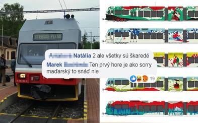 Slováci hromžia na ZSSK za návrhy nových tatranských vlakov. Pripomínajú im maďarskú vlajku či stečenú farbu