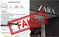 Slováci naleteli na falošné súťaže na Instagrame. Mysleli si, že vyhrajú poukážky do Zary či Pull&Bear