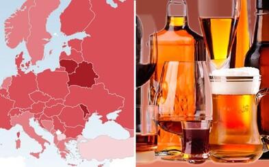 Češi patří k nejintenzivnějším konzumentům alkoholu na světě. Předběhli jsme i Slováky nebo Ukrajince