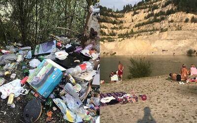 Slováci premenili krásne Šútovské jazero na nechutnú horu odpadkov. Bloger pri návšteve nevychádzal z úžasu