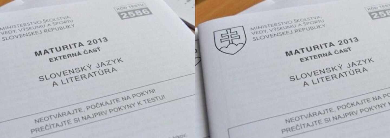 Slováci sa popasovali s témami maturitných slohov. Zvolil by si diskusný príspevok či úvahu?