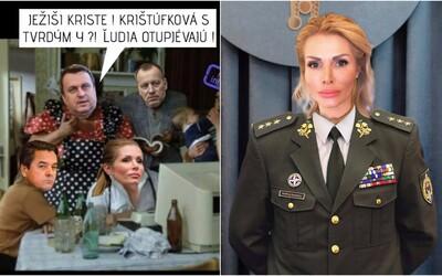 Slováci sa zabávajú na Petre Krištúfkovej a jej okopírovanej bakalárke: Je rovnaký plagiátor ako kapitán Danko