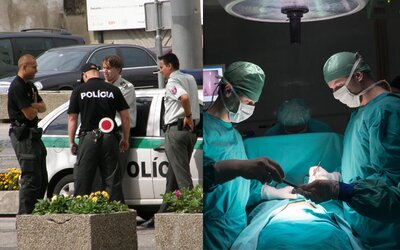 Slováci uverili, že u nás organizovaná skupina unáša ľudí na orgány. Policajti museli poplašnú správu dementovať