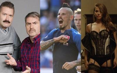 Slováci v roku 2018 najviac sledovali šport. Zo seriálov uspeli Susedia a Oteckovia