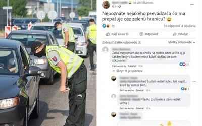 Slováci vo facebookových skupinách hľadajú prevádzačov a dávajú si tipy, aby sa vyhli karanténe