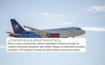 Slováci vo veľkom naleteli súťaži o výlet vládnym špeciálom kamkoľvek na svete